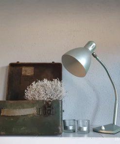 Oude industriele lamp.
