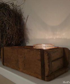 Stoere houten steenmal.