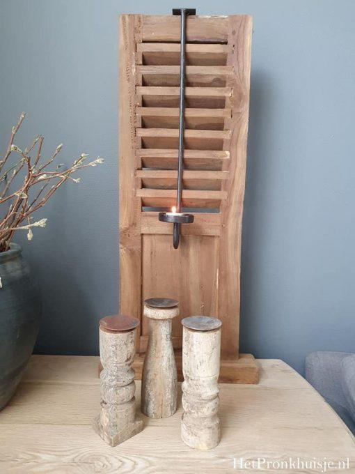 Kast hangkandelaar voor waxinelichtje.