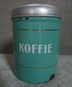 Emaille koffiebus.